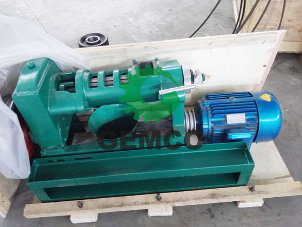 YZS-68   oil press for rice bran oil processing