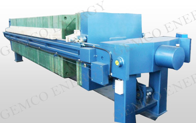 plate and frame type oil filter press