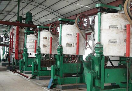 Corn Oil Processing Press Line