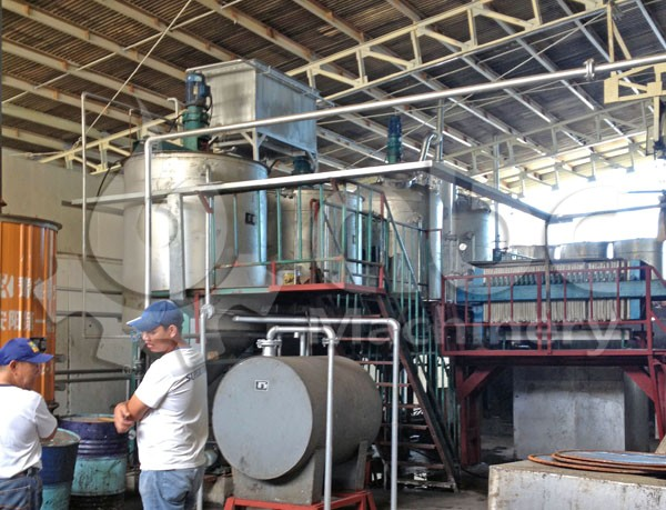 fish oil refinery production