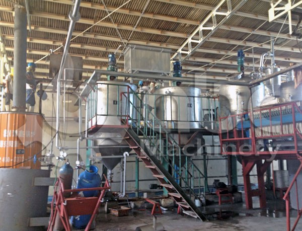 fish oil refinery production line
